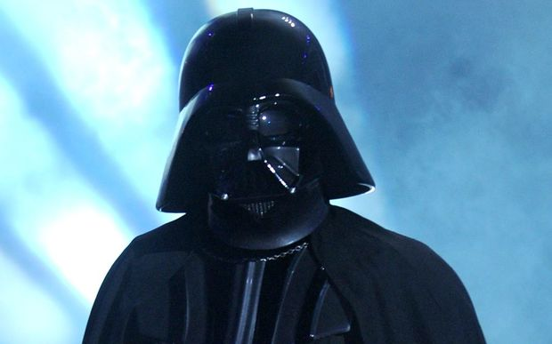 Darth Vader at a TV awards show.