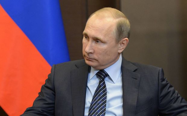 "Russian President Vladimir Putin said the shooting down of a Russian jet by Turkey was a stab in the back by ""accomplices of terrorists""."