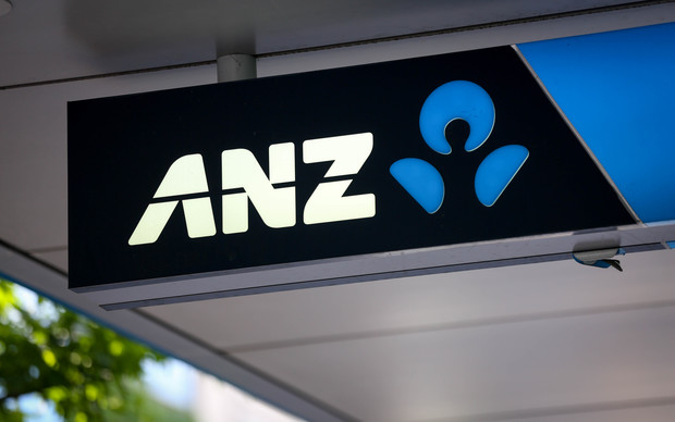 Sign for ANZ Bank