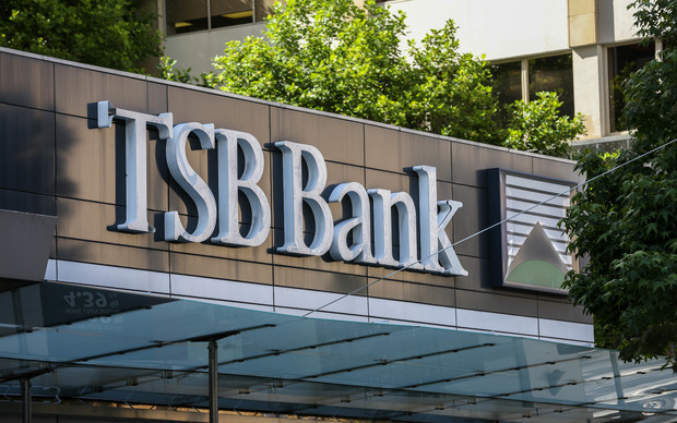 Sign for TSB Bank
