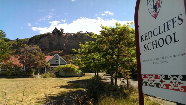 Education Minister Hekia Parata says the unstable cliff behind the Redcliffs School makes the site unsuitable for a school.