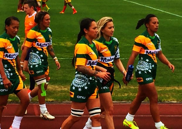 The Cook Islands finished third at the Oceania Sevens Championship.