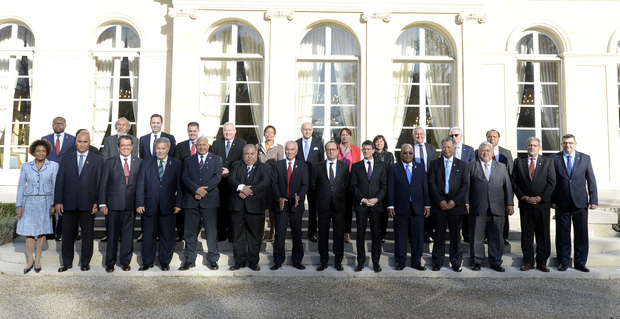 President Francois Hollande hosts French/Pacific summit in Paris