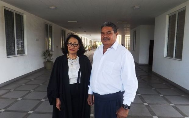 Associate Minister, Peseta Vaifou Tevaga, and lawyer Leulua'ialii Olinda Woodroffe