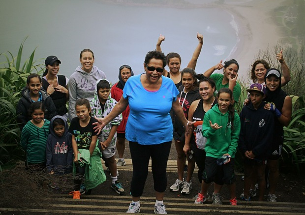 Emotions were high on the day Tiana made it up Mauao after thirteen years due to rheumatoid arthritis.