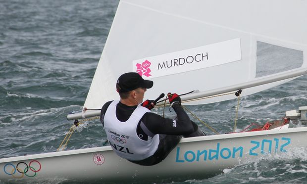 Andrew Murdoch at he 2012 Olympics.