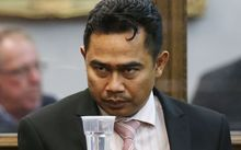 Muhammad Rizalman at the High Court in Wellington 30 Nov 2015