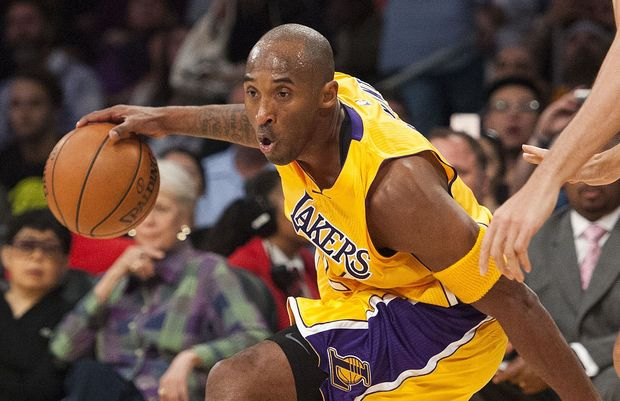 L.A. Lakers player Kobe Bryant