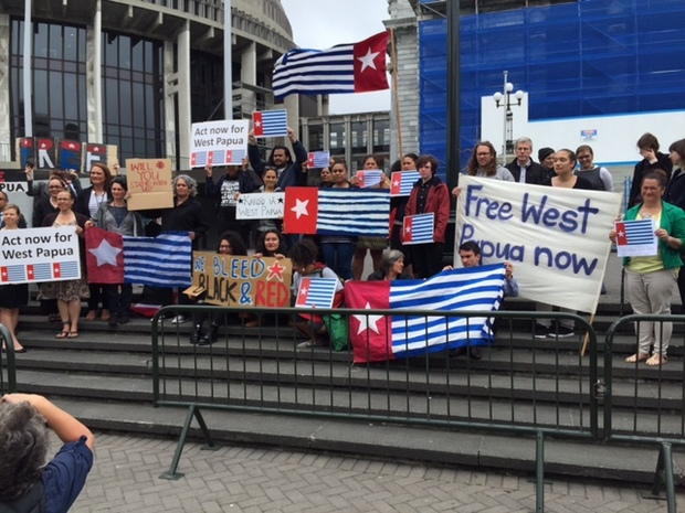 Wellington rally to mark first raising of West Papua's banned Morning Star flag