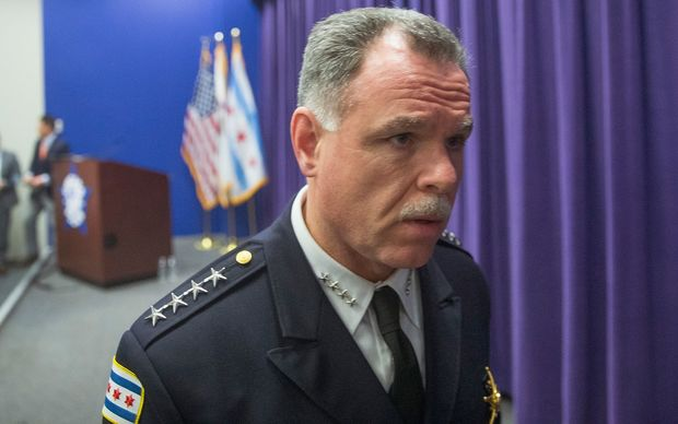 Chicago Police Superintendent Garry McCarthy.