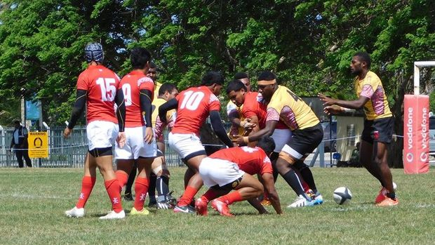 Tonga were too strong for Papua New Guinea at the Oceania Rugby Under 20 Champs.