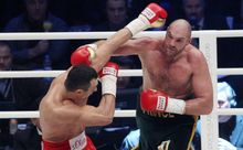 Wladimir Klitschko and Tyson Fury fight 2015.
