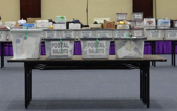 Ballot boxes in CNMI