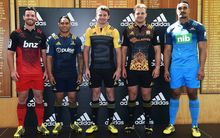 The 2016 New Zealand Super Rugby jerseys unveiled in Auckland today.