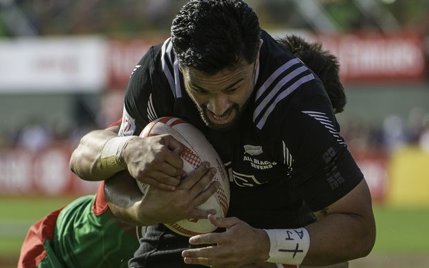 All Black Sevens player Sherwin Stowers is out of the South Africa world series round after breaking his arm in Dubai.