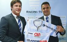 Dan Carter (right) is now playing at French club Racing 92.