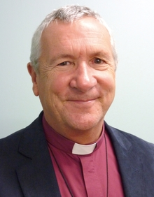 A portrait of Bishop Richard Ellena, Bishop of Nelson.