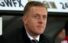 The now former Swansea manager Garry Monk.