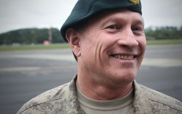 Commander Joint Forces New Zealand Major General Tim Gall