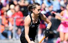 New Zealand hockey player Sam Charlton.