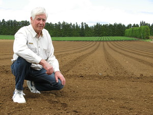Stan Clark on the soil he sees as beautiful