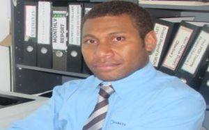 Diabetes Fiji's Viliame Qio.