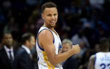 Golden State Warriors MVP Steph Curry turns to question an official's call during first-half action against the Charlotte Hornets at Time Warner Cable Arena in Charlotte, N.C., on Wednesday, Dec. 2, 2015. The Warriors won, 116-99 (Photo by Jeff Siner/Zuma Press/Icon Sportswire)