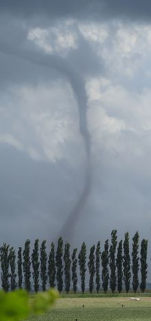 Tornado in Canterbury