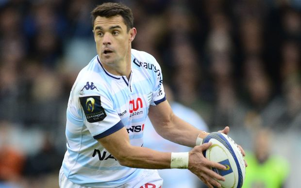 Dan Carter first game for Racing Metro
