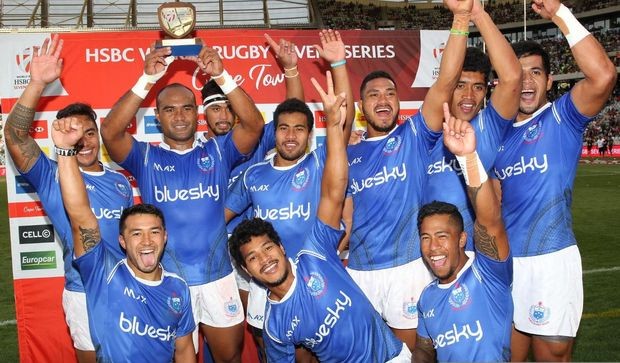 Samoa finished a distant 13th at the Cape Town Sevens.
