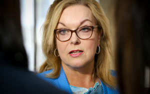 Judith Collins being appointed as a Minister again 14.12.15.