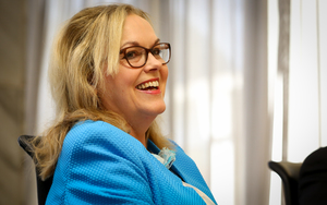 Judith Collins being re-appointed as a Minister 14.12.15.