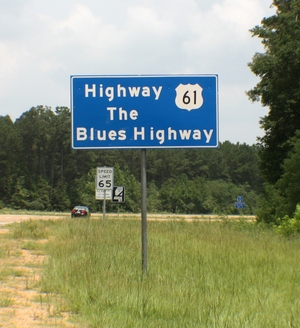 The Blues Highway (Highway 61)