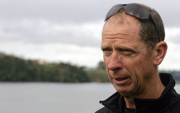 New Zealand rowing coach Dick Tonks.