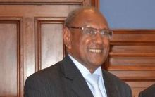 Solomon Islands Minister for Foreign Affairs Milner Tozaka