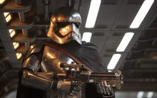 Captain Phasma, from Star Wars: The Force Awakens