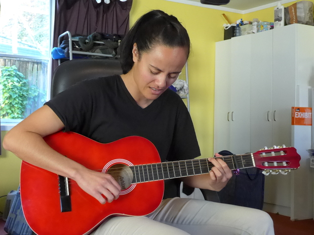 Tuirina Wehi performed a couple of her songs for us impromptu