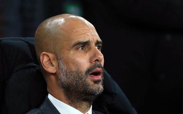 Spanish football manager Pep Guardiola.