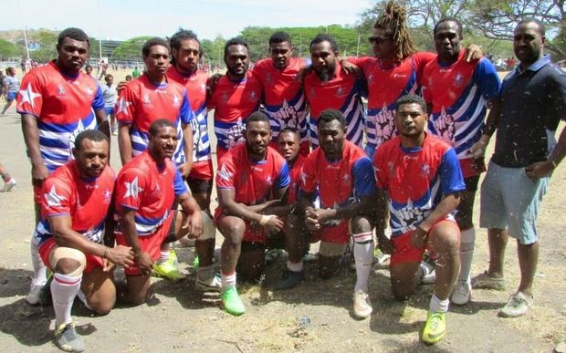 The West Papua Warriors rugby league team.
