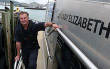 Senior Sergeant David Houston has been in the Wellington Police Maritime Unit for more than 18 years.