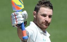 Brendon McCullum is the only New Zealander to have scored a triple test century.