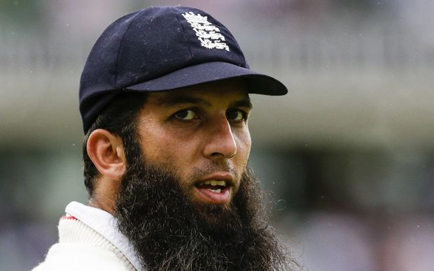 The England cricketer Moeen Ali.