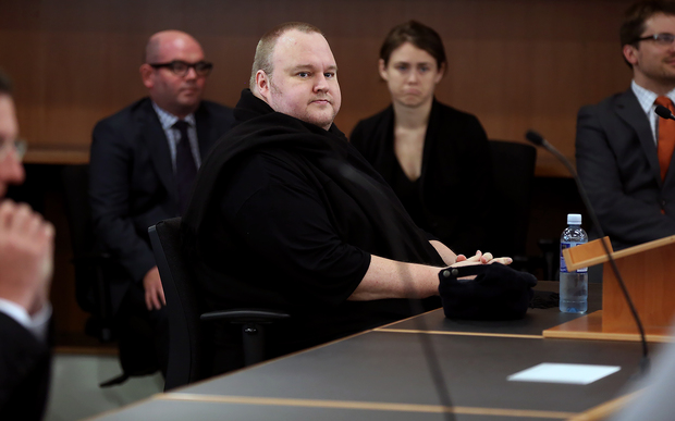 Kim Dotcom fights U.S. extradition in New Zealand's top court