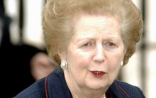 Margaret Thatcher in 2005