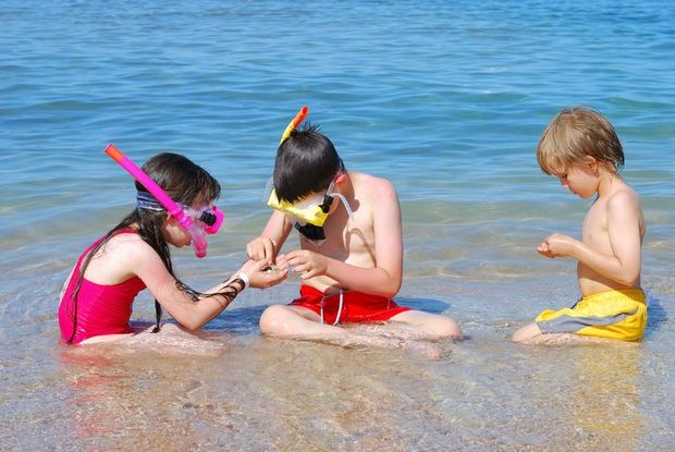 Plunket is reminding people to keep children within arms' reach when they're at the beach, river or pool.