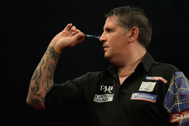 2015 World Darts Champion, Gary Anderson