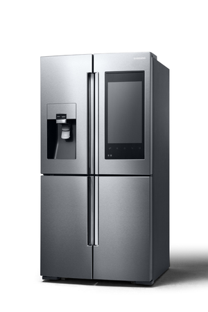Samsung's new fridge comes with a 21.5in HD touchscreen