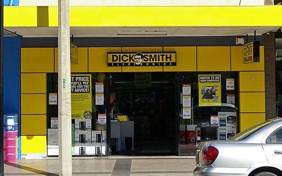 Dick Smith retail store.
