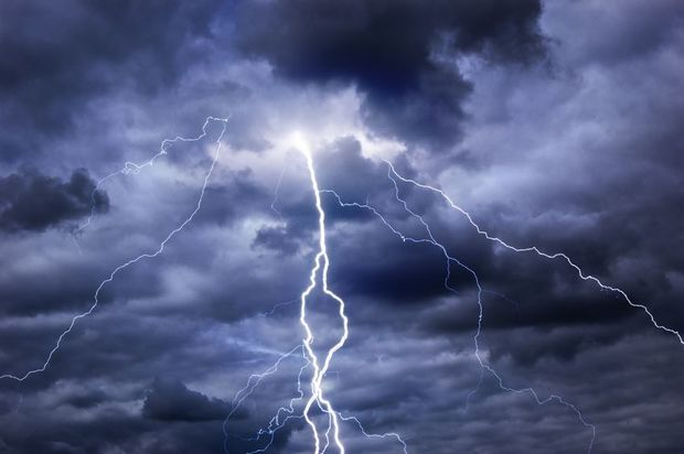 Thunderstorms And Rain