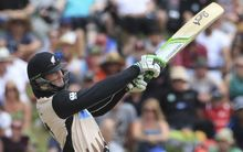 Martin Guptill in action for the Black Caps